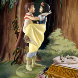 Walt Disney Classics Collection Animation Art Fairytale Ending - Snow White & Prince