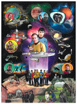 Charles Fazzino 3D Art Charles Fazzino 3D Art Star Trek: The Beginning (ALU)