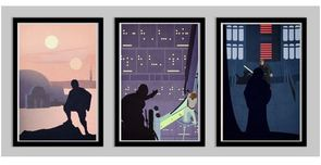 Star Wars Artwork Star Wars Artwork Luke Skywalker Trilogy