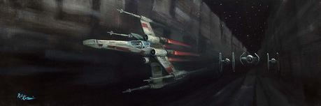 Star Wars Artwork Star Wars Artwork Stay on Target (SN)
