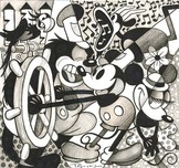 Mickey Mouse Artwork Mickey Mouse Artwork Steamboat