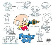 Family Guy Art Family Guy Art Stewie Model Sheet