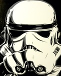Star Wars Artwork Star Wars Artwork Stormtrooper (AP)