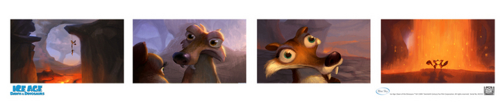 Ice Age Artwork Ice Age Artwork Storyboard