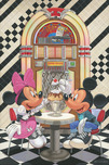Mickey Mouse Artwork Mickey Mouse Artwork Sundae for Two