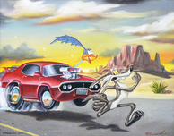 Road Runner Artwork Road Runner Artwork Super-Charged