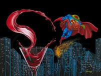 Superman Artwork Superman Artwork Supertini (SN)