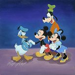 Donald Duck Animation Art Donald Duck Animation Art Cheering Up Donald