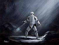 Star Wars Artwork Star Wars Artwork TR-8R (SN)