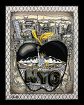 Charles Fazzino 3D Art Charles Fazzino 3D Art Tagging the Big Apple (ALU)