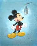 Mickey Mouse Artwork Mickey Mouse Artwork Talks Like A Mouse