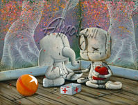 Fabio Napoleoni Fabio Napoleoni That's What Friends are For (AP) Paper (Framed)