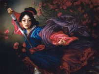 Mulan Artwork Mulan Artwork The Elegant Warrior