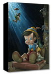 Pinocchio Artwork Pinocchio Artwork The Little Wooden Boy - Treasures on Canvas