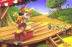 Mickey Mouse Artwork Mickey Mouse Artwork The Maestro's Baton