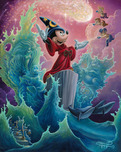 Mickey Mouse Artwork Mickey Mouse Artwork The Sorcerer's Finale