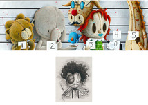 Fabio Napoleoni Fabio Napoleoni The Usual Suspects Too (SN) Canvas