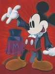 Mickey Mouse Artwork Mickey Mouse Artwork The Magician