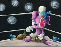Fabio Napoleoni Fabio Napoleoni The Party is Just Starting (AP) Canvas