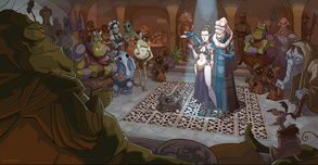 Star Wars Artwork Star Wars Artwork The Princess's New Clothes