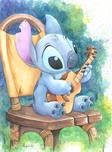 Lilo and Stitch Artwork Lilo and Stitch Artwork Ukulele Solo