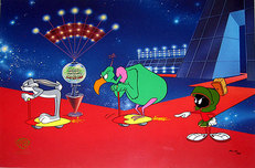 Marvin the Martian Artwork Marvin the Martian Artwork Hare-way to the Stars