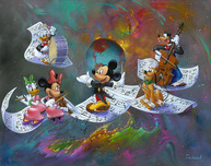 Mickey Mouse Fine Art Mickey Mouse Artwork A Universe of Music