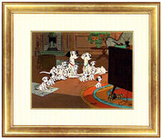 101 Dalmatians Art 101 Dalmatians Art Watching TV