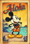 Mickey Mouse Artwork Mickey Mouse Artwork Waves of Aloha