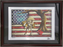Fabio Napoleoni Fabio Napoleoni We Go Forward Together (AE) Aluminum (Framed)