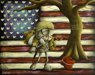 Fabio Napoleoni Fabio Napoleoni We Go Forward Together (AP) Canvas