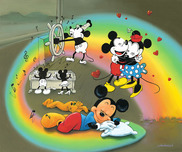Pluto Artwork Pluto Artwork What does Mickey Dream?