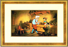 Pinocchio Artwork Pinocchio Artwork Geppetto's Workbench