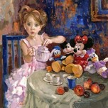 Daisy Duck Artwork Daisy Duck Artwork Would You Like Some Tea?