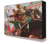 Alex Ross Comic Art Alex Ross Comic Art Yellow Submarine Fab Four (Mini Canvas)