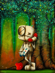 Fabio Napoleoni Fabio Napoleoni Your Voice Makes My Heart Sing (OE) Mini Print