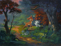 Bambi Art Bambi Art A Friendship Blossoms