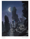 Star Wars Artwork Star Wars Artwork Artoo's Lonely Mission