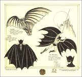 Batman Animation Artwork  Batman Animation Artwork  Batman Da Vinci