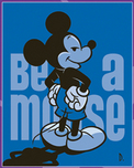 Mickey Mouse Artwork Mickey Mouse Artwork Be A Mouse