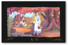Beauty and the Beast Art Beauty and the Beast Art The Flowery Path