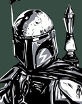Star Wars Artwork Star Wars Artwork Boba Fett (AP)