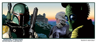 Star Wars Artwork Star Wars Artwork Bounty Hunters