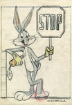 Bugs Bunny Animation Art Bugs Bunny Animation Art Bugs Bunny: Stop on the Lot