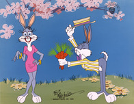 Bugs Bunny Animation Art Bugs Bunny Animation Art Bugs Courts Bonnie