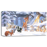 Bambi Art Bambi Art Cold Winter Woods