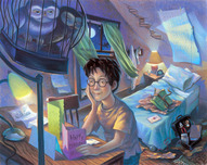 Harry Potter Artwork Harry Potter Artwork Counting the Days