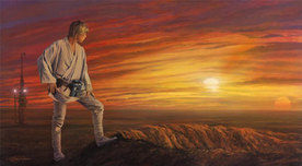 Star Wars Artwork Star Wars Artwork Destiny Awaits