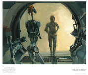 Star Wars Artwork Star Wars Artwork Droid Surprise