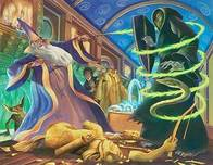 Harry Potter Artwork Harry Potter Artwork Dueling Wizards